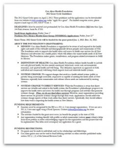 "Thumbnail of the document ""2012 Guidelines"""