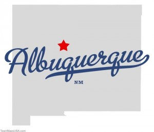 (CC) BY-NC Map of Albuquerque NM via http://townmapsusa.com