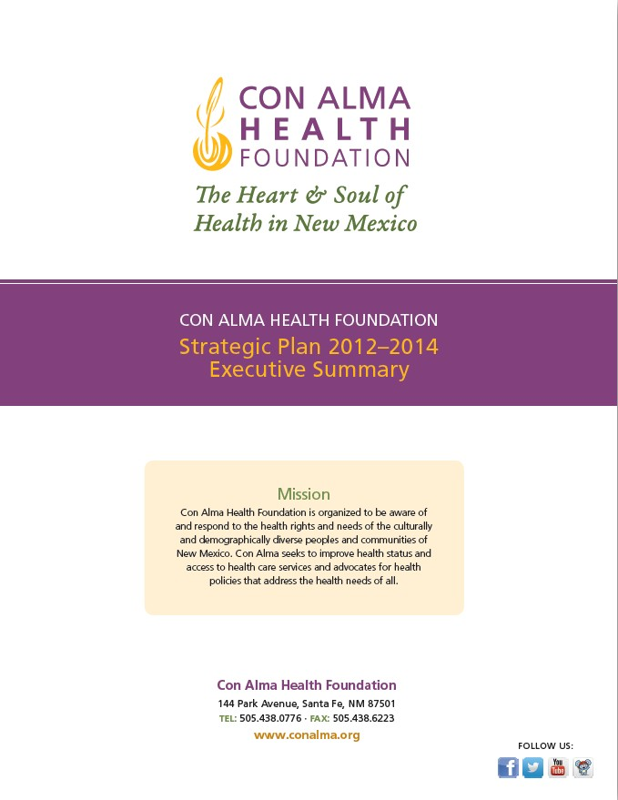 Strategic Plan 2012-2014 Executive Summary