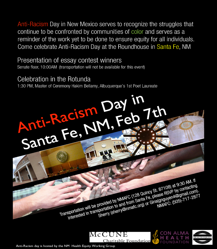 Anti-Racism Day in New Mexico