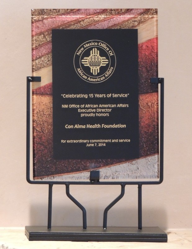 Con Alma Health Foundation Receives Recognition for Commitment and Service