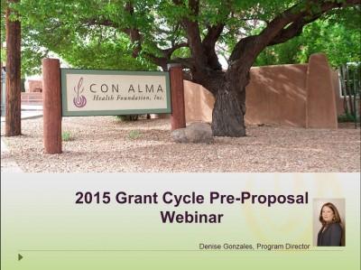 2015_Pre-proposal_Presentation