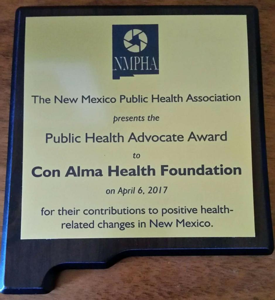Con Alma Health Foundation Honored with Public Health Award