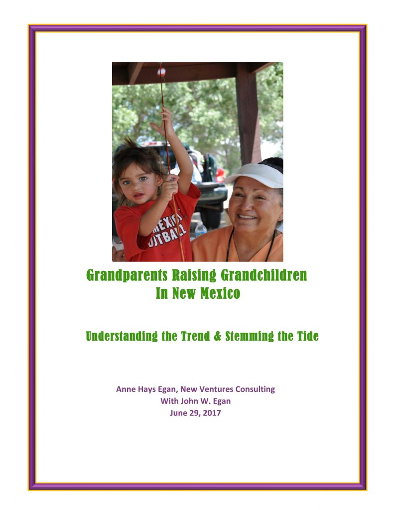 Grandparents Raising Grandchildren in New Mexico: Understanding the Trend & Stemming the Tide