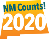 New Mexico Counts! 2020 logo